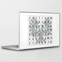 warhammer Laptop & iPad Skins featuring Cypher, Warhammer 40K by ZsaMo Design