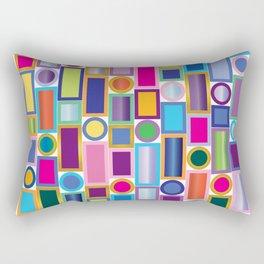 Color Bling Rectangular Pillow