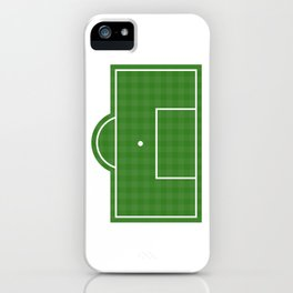 Football Penalty Area iPhone Case