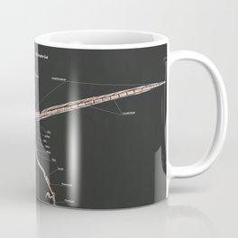 Microraptor Gui Skeletal Study Coffee Mug