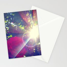 Petals of Light Stationery Cards