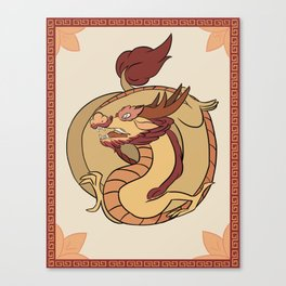 YOTR-Dragon Canvas Print
