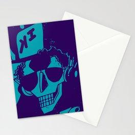 Esqueleto buena onda Stationery Cards