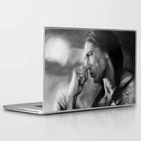 american Laptop & iPad Skins featuring Native American  by Thubakabra