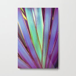 Fiesta Palm Metal Print