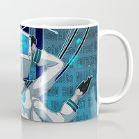 vocaloid Mugs featuring What the hell's going on?! by Helixel