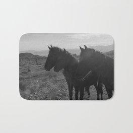 Desert Horses Bath Mat