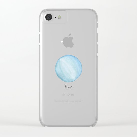 Uranus Clear iPhone Case