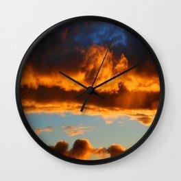 Sunset #195 Wall Clock