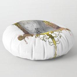 Misperception - no background Floor Pillow