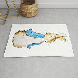 Peter Rabbit standing still Rug