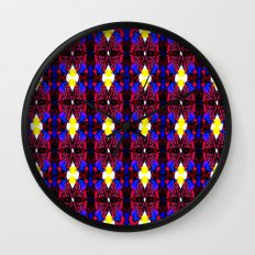 When Hearts Collide Wall Clock