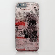 misprint 102 iPhone 6s Slim Case