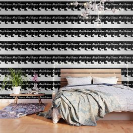 Westie White Christmas Wallpaper