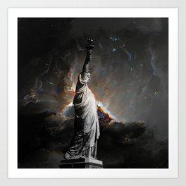 Liberty in Danger #2 Art Print
