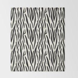 Zebra 1 Throw Blanket
