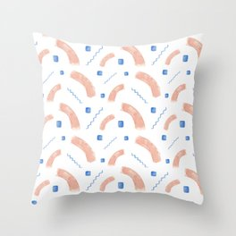 Greek Abstract Pattern Throw Pillow