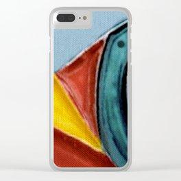 The Kandinsky's Chubby Bird 2 Clear iPhone Case