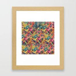 Hallucinatory Terrain Framed Art Print
