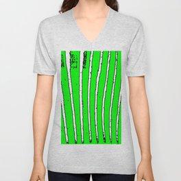 Green Seaweed Unisex V-Neck