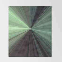 Shades of Green Color Explosion Throw Blanket
