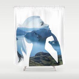 Serenity One Shower Curtain