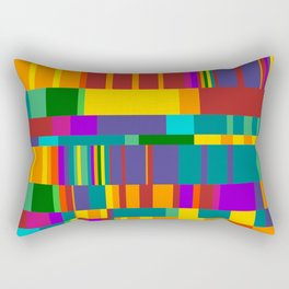 Chopin Prelude (Bright Colours) Rectangular Pillow