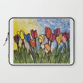 Tulip Field Laptop Sleeve