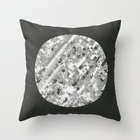 techno Throw Pillows featuring Techno Morning. by RJ Creative