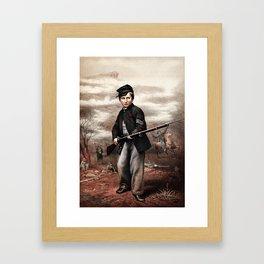 Union Drummer Boy John Clem Framed Art Print