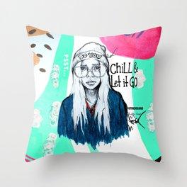#STUKGIRL PHOENIX Throw Pillow
