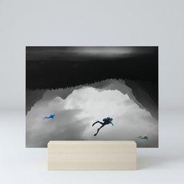 Into The Deep Mini Art Print