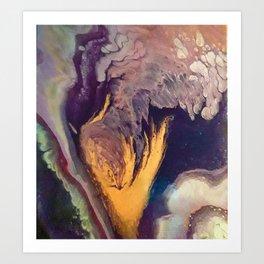 The Golden Torch Art Print