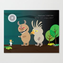 Wild Rumpus Canvas Print