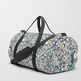 Baby Penguin Pattern Duffle Bag