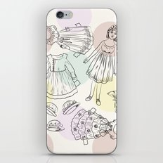 Victorian Paper Doll iPhone & iPod Skin