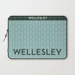 WELLESLEY | Subway Station Laptop Sleeve