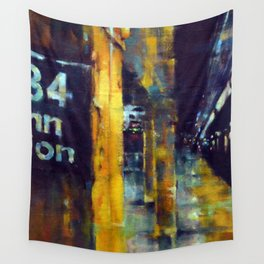 Underneath NYC: 34th Street on the 2/3 Wall Tapestry