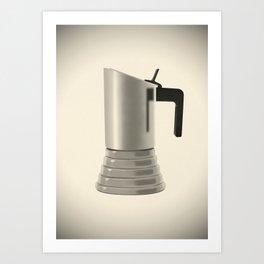 Vev Vigano coffee maker. Vintage Italian coffee maker. Art Print