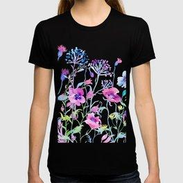 Watercolor Field of Pastel T-shirt