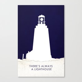 There's Always a Lighthouse v2 Canvas Print