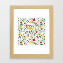 Spring Mornings Framed Art Print