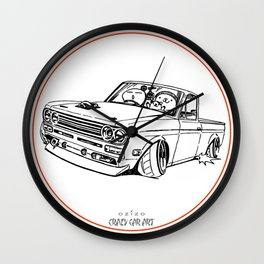 Crazy Car Art 0188 Wall Clock