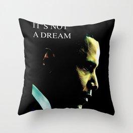 President colors fashion Jacob's Paris it's not a dream Throw Pillow