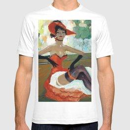 Jean-Gabriel Domergue Rina Ketty remake T-shirt