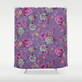 Hopeless Romantic - lavender version Shower Curtain