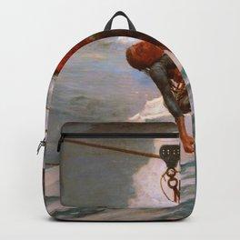 Winslow Homer1 - The Life Line - Digital Remastered Edition Backpack