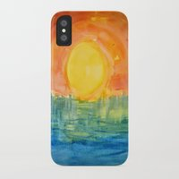hindu iPhone & iPod Cases featuring Hindu Creation by Brusling