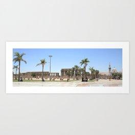 Temple of Luxor, no. 18 Art Print