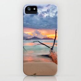 colors of seychelles iPhone Case